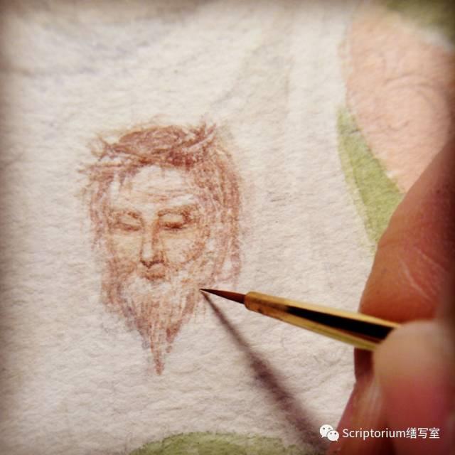 ▲ 耶穌第一次跌倒時,韋羅尼加用攜帶的面巾為他抹面,面容就印在了上面。