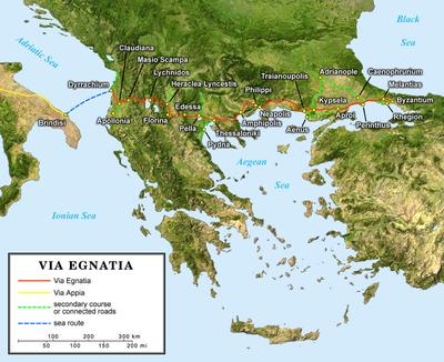 得撒洛尼前書-地圖