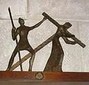 第二處 耶穌背負十字架