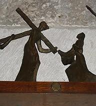 第六處 韋洛妮加拭抹耶穌的臉