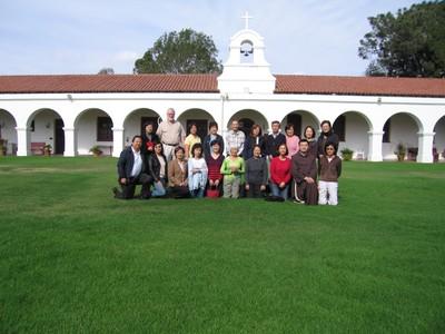 2007年11月11日 San Diego避靜合照