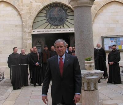 美國總統拜訪白冷耶穌誕生地