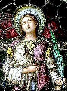 1月21日 聖女雅妮(St. Agnes)