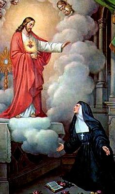 10月16日 聖女瑪加利大亞拉高(St. Margaret Mary)