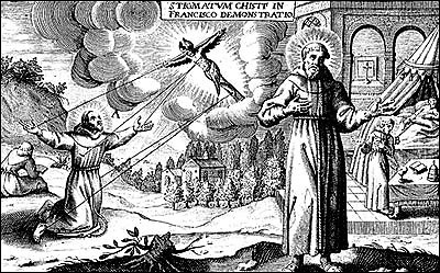 9月17日 聖方濟各受五傷聖痕(The Stigmata of St. Francis)